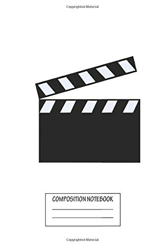 Halloween 6 Screenplay (Notebook: Film Clapper Board , Journal for Writing, Size 6