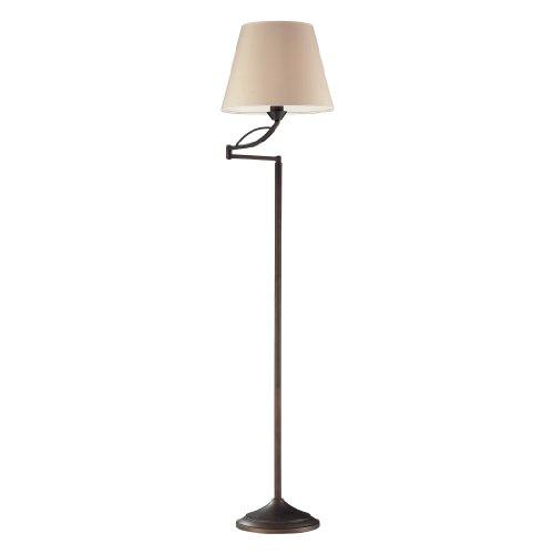 Five Light Elysburg (Dimond Lighting 17027/1 Elysburg One Light Floor Lamp, Aged Bronze)