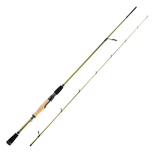 KastKing WideEye Walleye Fishing Rods, Spinning - 2pcs-6ft 8in-M-Power Jig