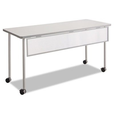 Safco Products 2076SL Impromptu Mobile Training Table Modesty Panel for 60'W Table (Table Top and Base sold separately), Silver Frame