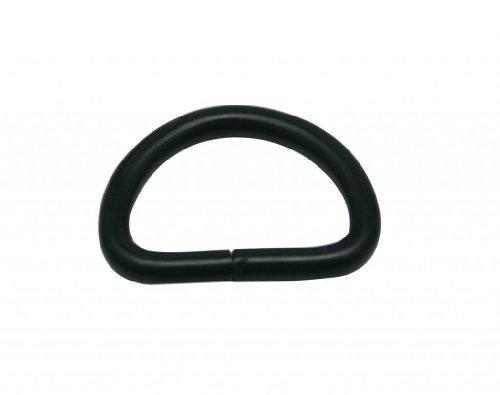 D Rings Buckle D-Rings 0.75 Inches Inside Diameter for Backpack Bag Pack of 30 ()