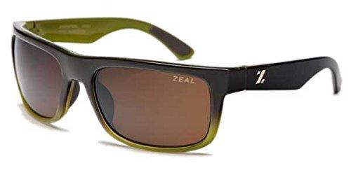 Zeal Optics Unisex Essential Polarized Brown + Olive W/Copper Polarized Lens One Size