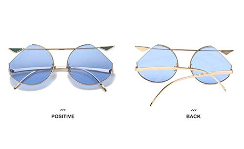 b YTTY Lunettes de Classique légères Parasol Ultra Soleil en UV Lunettes Style Cadre métal Femmes Mode TT4rZHq