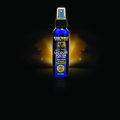 Music Nomad MN700 Lacquer Polish for Brass and Woodwind Instruments, 4 oz. from Music Nomad Equipment Care