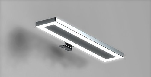 lampada luce a led applique cm 30 faretto specchio arredo bagno hydra