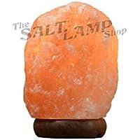 Himalayan Salt Lamp 1-2kg Natural Pink Rock Crystal Decor Dimmer Switch