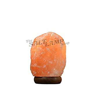 Himalayan Salt Lamp 1-2kg Natural Pink Rock Crystal Decor Dimmer Switch