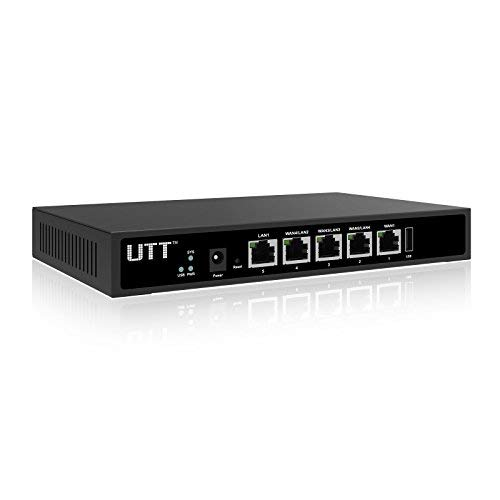 UTT ER840G 4 Port Internet WAN Router with 4 Gigabit WAN Ports - Load Balance & Failover - VPN - USB - Access Control - for ()