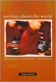 Read Online Writing about the World 3th (third) edition Text Only pdf