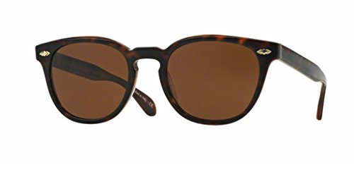 Oliver Peoples - Sheldrake Plus - 5315 52 - Polarized Sunglasses (VINTAGE CLASSIC TORTOISE, Java Polar - Eyeglasses Sheldrake Peoples Oliver