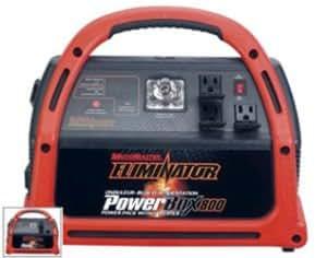 MOTOMASTER ELIMINATOR POWERBOX 800 INVERTER JUMPSTART 600W