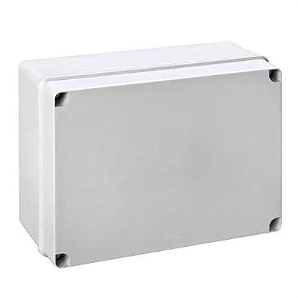 IDE EL111 IP65-IP67 Caja Estanca de Derivación con Tapa Opaca y Laterales Lisos, Gris, 108mm x 108mm x 64mm: Amazon.es: Industria, empresas y ciencia