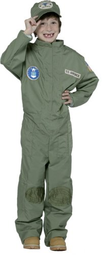 Air Force Jumpsuit Costume - (Gi Joe Group Costume)