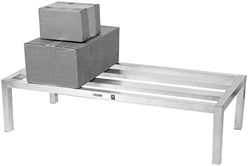 Channel Manufacturing HD2424 24 x 24 Aluminum E-Channel Manufacturing Dunnage Rack – 2500 lb.