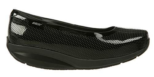 MBT Shoes Women's Hani 8 Dress Slip On: Black/Patent/Leather 5 Medium (B) Slip-on