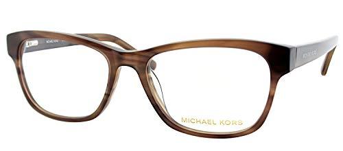 Michael Kors Eyeglasses MK829M 226 Brown Horn 53 17 ()
