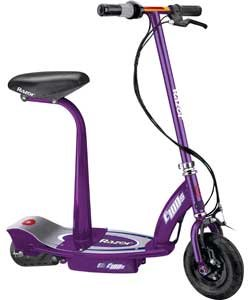 Razor Electric Scooter With Seat >> Amazon Com Razor E100s Electric Scooter With Seat Purple Baby