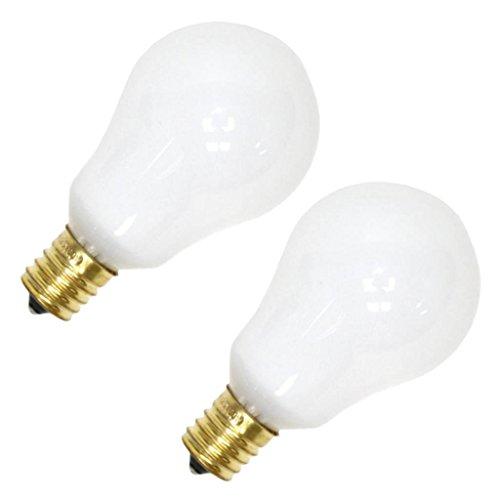 Westinghouse Ceiling Fan Bulb White 40 W 325 Lumens A15 Fan Bulb E-17 Card Card Of 2 ()