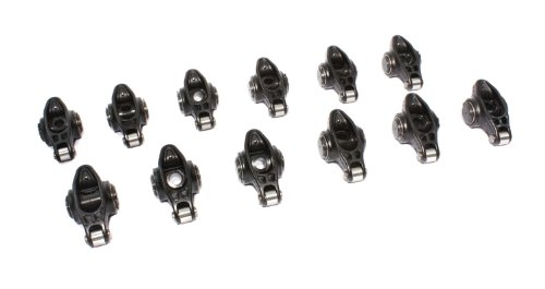 "COMP Cams 1618-12 Ultra Pro Magnum Self-Aligning Roller Rocker Arm with 1.6 Ratio and 3/8"" Stud Diameter for Chevrolet V6 Engine, (Set of 12)"