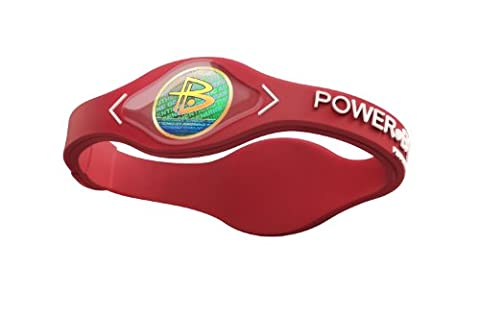 Power Balance-The Original Performance Wristband (Red/White, Large)