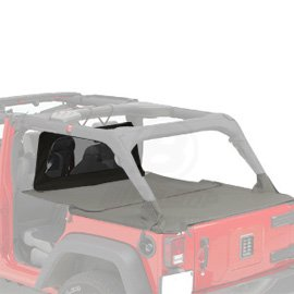 Bestop Jeep Cab Cover (Pavement Ends by Bestop 41425-35 Black Diamond Cab Curtain for 2007-2018 Wrangler JK Unlimited)