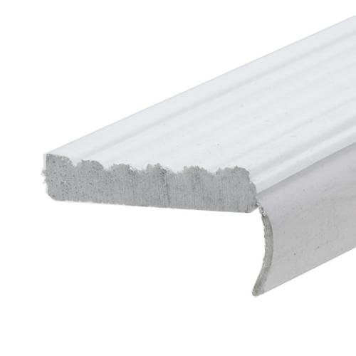 Frost King Gr7/10 Vinyl Garage Door Side & Top Weatherseal 2-3/4x7', White by Thermwell