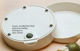 GripWare Scoop Dish Plate - Melamine