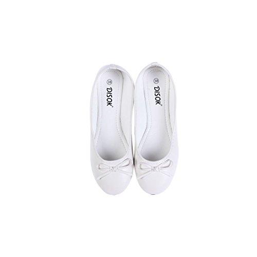 Disok Bailarinas Bodas Blancas Para Manoletinas Regalo l En De Bolsa Lote Organza 20 nHqp4C1