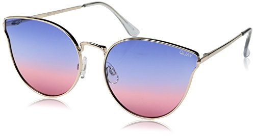 Quay Women's All My Love Sunglasses, Gold/Purple Pink, One - 6pm Sunglasses