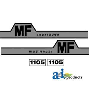 Massey Ferguson Tractor 1105campana para parte no: a-mf1105h