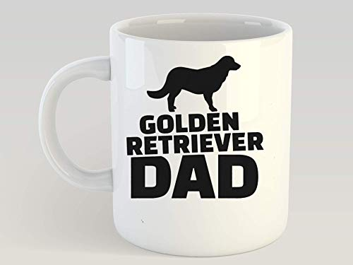 (SAYOMEN - Golden Retriever Everyone has a guardian angel Mens Premium TShirt 7 MUG 15oz - Birthday Gift, Father's Day Mug, Wedding Mug, Christmas Gift, Funny Mug, Ceramic Coffee Mug, Gift for Her.)