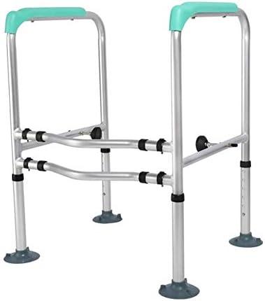 高齢者&障害者に適した理想をインストールするために調節可能なアルミトイレサラウンドフレーム-Adjustable鉄道とグラブバートイレ安全フレーム簡単アームレストトイレ