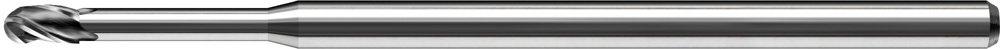 1.550 Reach 1//8 Shank Diameter 0.093 Cutting Length 3 Length Carbide KYOCERA 1755-0625L1550 Series 1755 Stub Length Ball Nose End Mill 30 Degree Angle ALTIN 3 Flute 1//16 Cutting Diameter