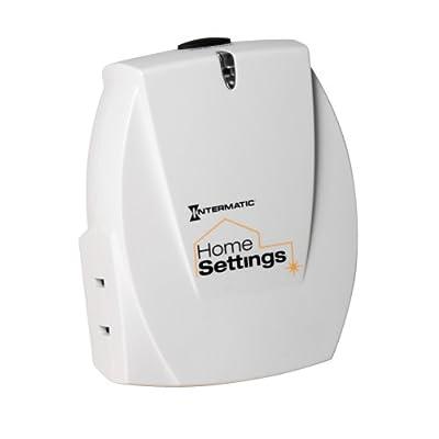 Intermatic HA03C Home Settings Wireless Plug-In Indoor Lamp Module
