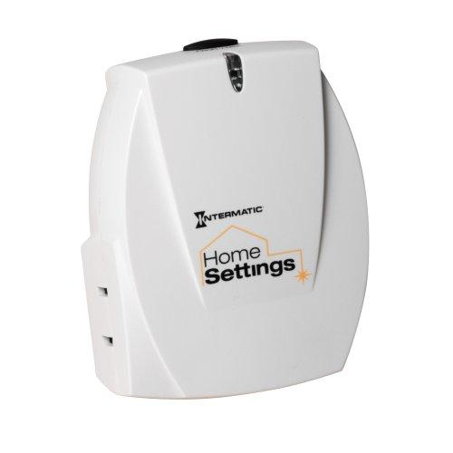 Intermatic HA03C Home Settings Wireless Plug-In Indoor Lamp Module - Intermatic Z-wave