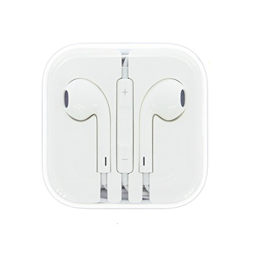 Apple Earpod Wired Earphones 3.5mm Jack for iPhone 6 6s Plus MD827LL/A (Certified Refurbished)