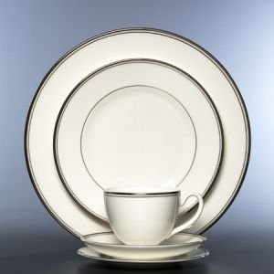 6' China Saucer - KILBARRY PLATINUM SAUCER PS