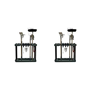 Stalwart Rolling Garden Fits 40 Tools Storage Rack Tower (Pack of 2)