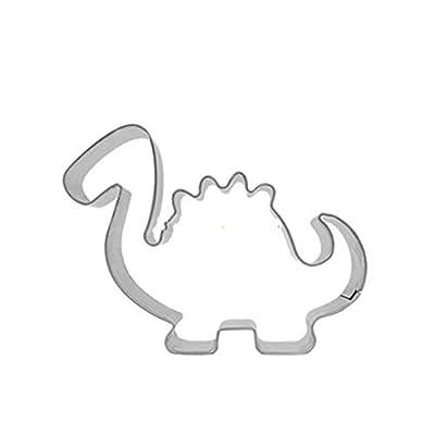 FairyTeller Dinosaur Cookie Cutters Onigiri Biscuit Press Tools Baking Accessories Stainless Steel Top Shop Kitchen Accessories Cake