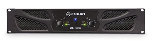 Crown Audio XLi 3500 Amplificador de Potencia Estereo