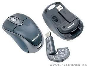 Microsoft Wireless Notebook Optical Mouse 3000 - Slate (BX3-00012)