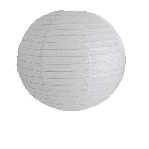 L/ámpara de papel esf/érica Sky Lantern 40 cm 3 unidades