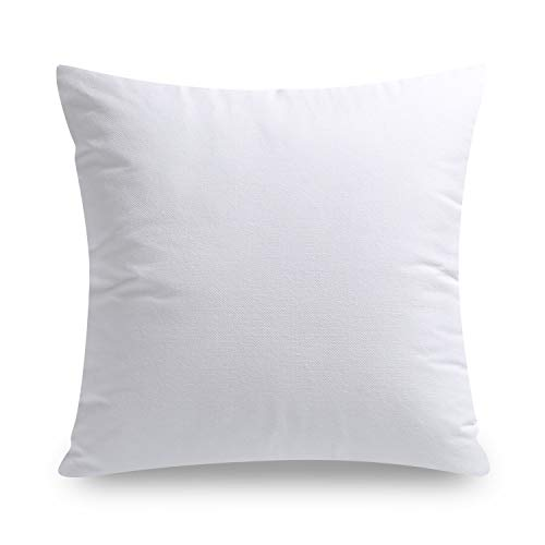 Phantoscope Throw Pillow Inserts Hypoallergenic Square Form Sham Stuffer 18 x 18 inches 45 x 45 cm