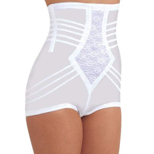 Brief Rago High Waist Panties (Rago Women's Plus-Size Hi Waist Brief, Black, 3X-Large (36))