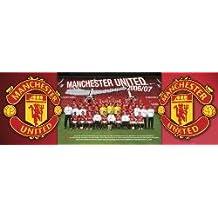 Manchester United - Team Photo 2006/07 Poster - 30x91cm