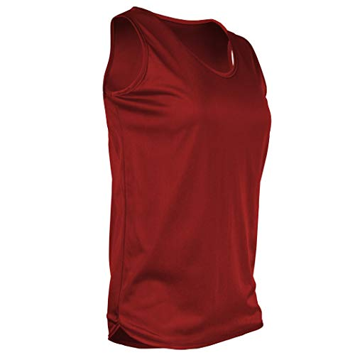 Game Gear TR-903W-CB Womens Athletic Single Ply Solid Color Light Weight Track Singlet