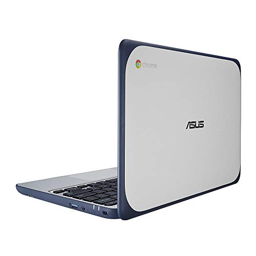 2021 Newest ASUS Chromebook 11.6 Inch Non-Touch Laptop for Business Student| Intel Celeron N3060 up to 2.48GHz| 4GB LPDDR3 RAM| 32GB eMMC| WiFi| Bluetooth| HDMI| Chrome OS + NexiGo 32GB MicroSD Bundle