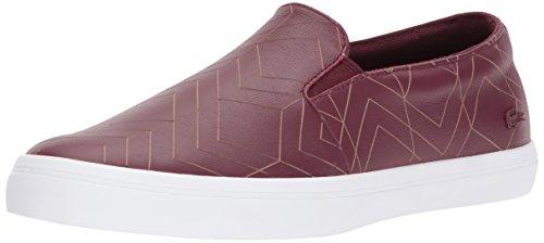 Lacoste Womens Gazon 417 1 Sneaker Dkburgndy