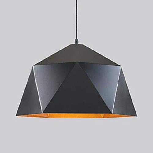 Attic Chandeliers Pendant Lights Industrial 1-Light Metal Dining Room Hallway Cafe Bars Clothing Store Lighting [Energy Class A++]