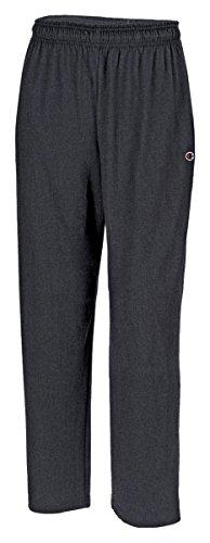 Champion Authentic Men's Open Bottom Jersey Pants_Granite Heather_Medium